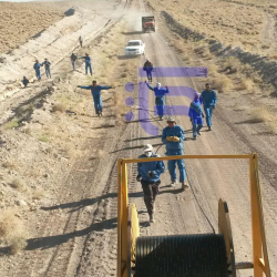 Installation of Optic Fiber Cable Alongside Gas-Transferring Pipelines