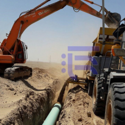 """Construction of a 20"""" pipeline: N'aeen/Kashan/Rey, & related facilities"""